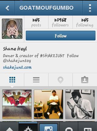 Shane Heyl Twitter handle